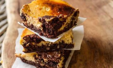 Λαχταριστό σνακ για παιδιά: Brownies με κολοκύθα και καρύδια