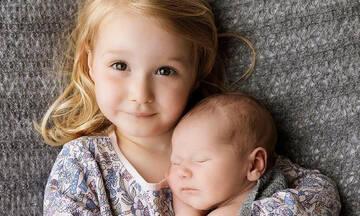 Όταν η οικογένεια μεγαλώνει – Υπέροχες φωτογραφίες  νεογέννητων