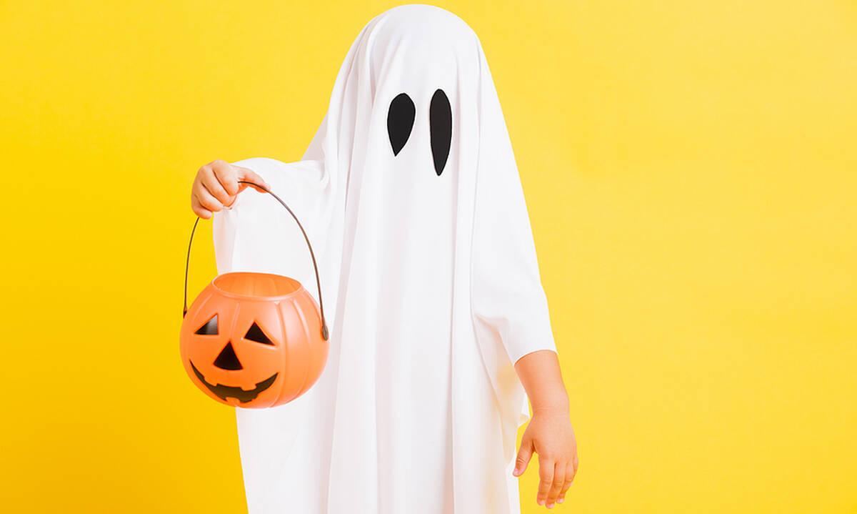 Απίθανες halloween χειροτεχνίες για παιδιά - Φτιάξτε και παίξτε με φαντάσματα
