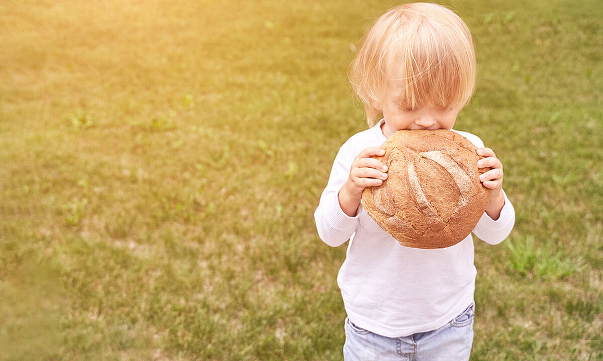 Το ψωμί στη διατροφή του παιδιού