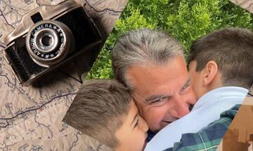Γιώργος Λιάγκας: Τον πήρε ο γιος του τηλέφωνο και τον τρόμαξε - Δείτε φώτο