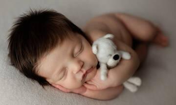 Τα μαλλιαρά μωράκια του Instagram - Φανταστικές φωτογραφίες νεογέννητων