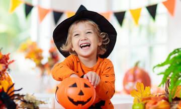 Halloween πείραμα για παιδιά με αυγά και ξύδι (vid)