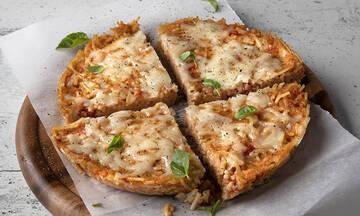 Πίτσα από ζυμαρικά - Τα παιδιά θα ξετρελαθούν