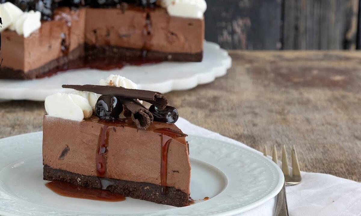 Cheesecake black forest - Εντυπωσιακό και πεντανόστιμο