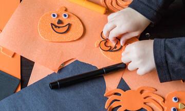 Χειροτεχνίες για παιδιά: Φτιάξτε Halloween κάρτες (vid)