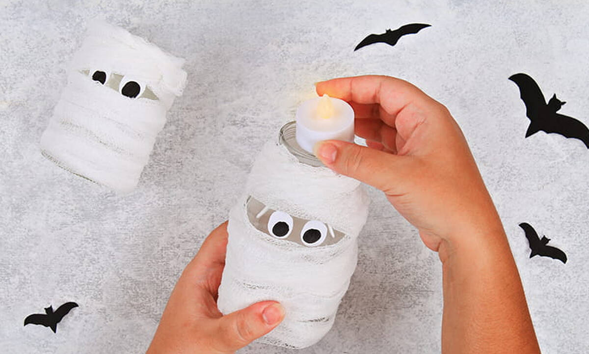 Χειροτεχνίες για τα παιδιά για το Halloween και τις απόκριες